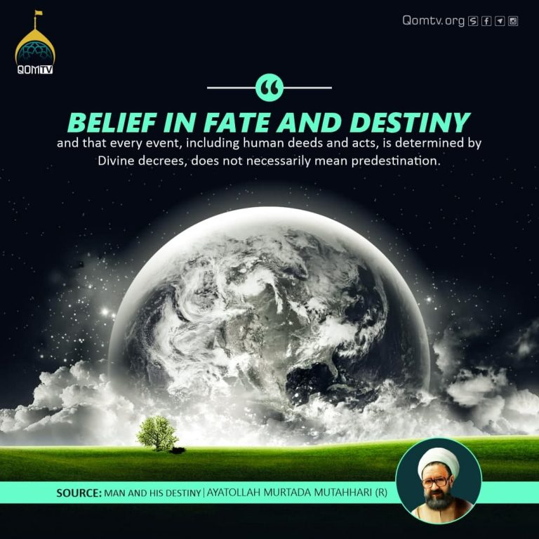 Belief in Fate and Destiny
