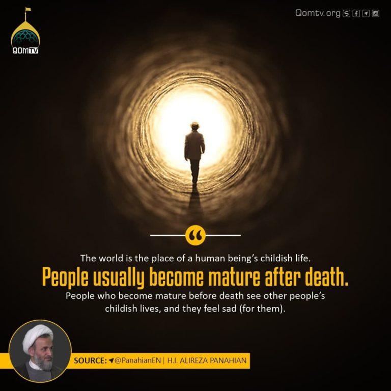 Maturity after Death (Alireza Panahian)
