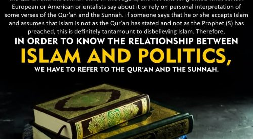 Islam and Politics (Ayatollah Misbah Yazdi)
