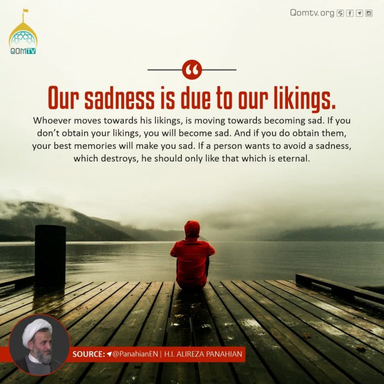 Our Sadness is due to our Linkings