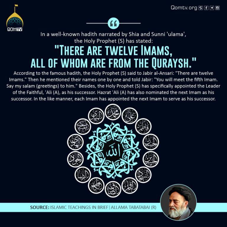 Twelve Imam (Allama Tabatabai)