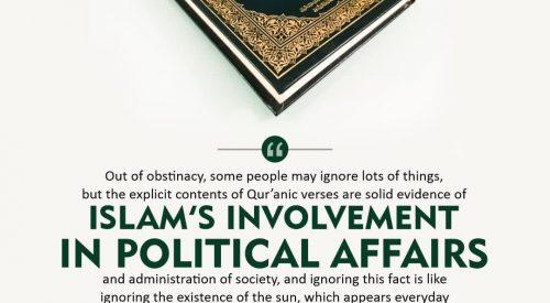 Islam's Involvements in Political Affairs