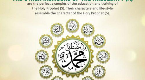 Members of the Ahlulbayt (as)