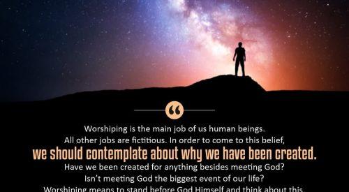 Human Being Worshiping