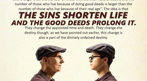 The Sins Shorten Life