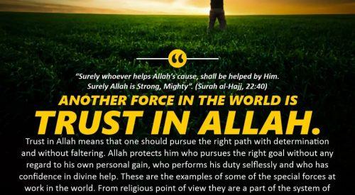 Trust in Allah (Ayatollah Murada Mutahhari)