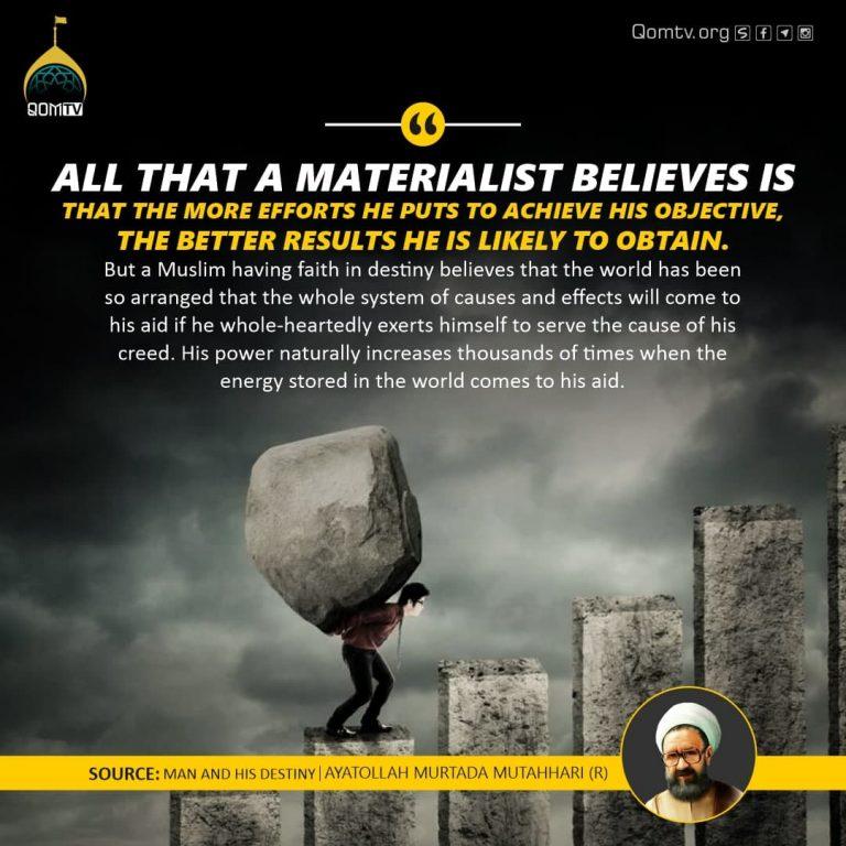 Materialist Believes (Ayatollah Murada Mutahhari)