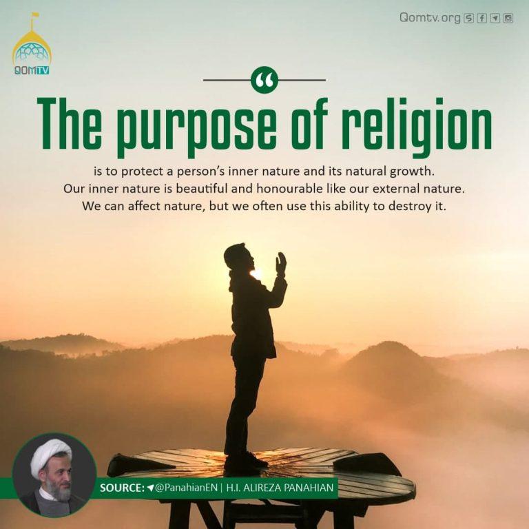 Purpose of Religion (Alireza Panahian)