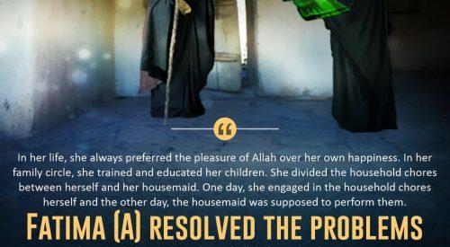 Fatime (A) Resolved the Problems (Allama Tababai)