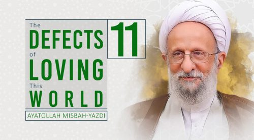 Defects of Loving this World
