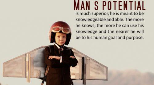 Man's Potential (Ayatollah Murtada Mutahhari)