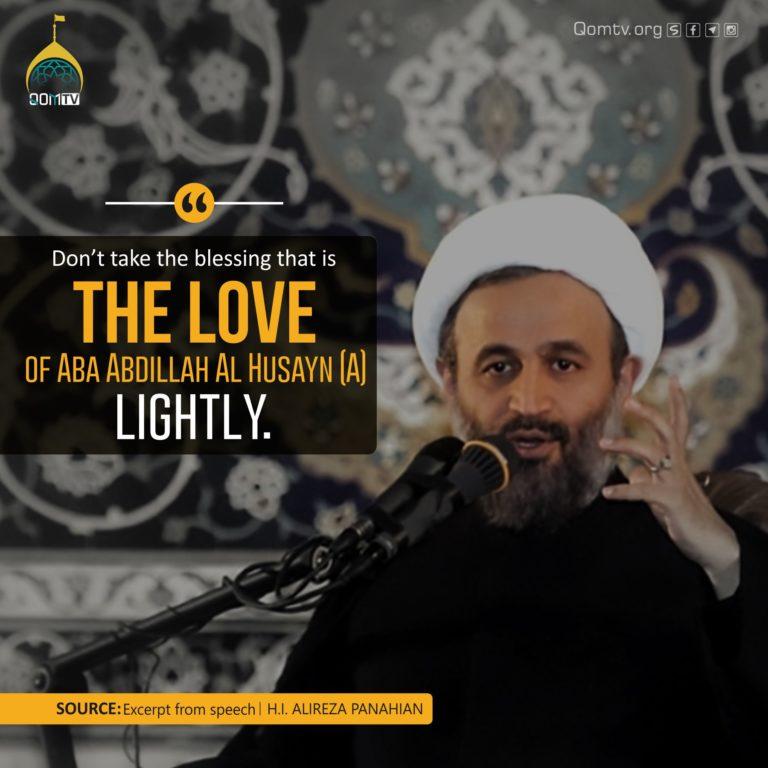 Love of Aba Abdillah Al Husayn (A) (Alireza Panahian)