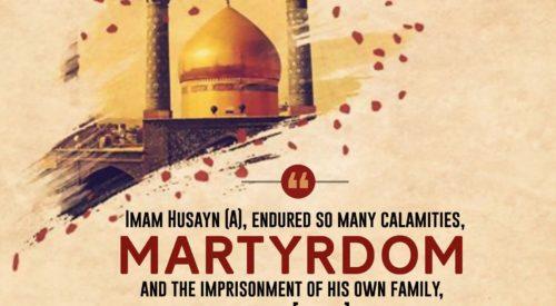 Imam Husayn (A) Martyrdom